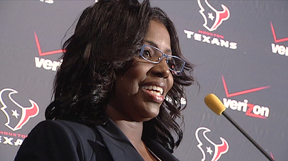 The Texans cheerleaders coach named in a lawsuit has resigned, according to the team.