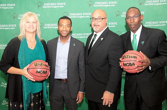 Chicago State University recently held a press conference to announce two new head coaches for the school's basketball teams. The ...