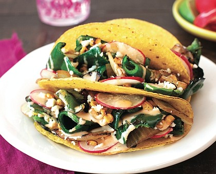 Poblano Ranch Tacos