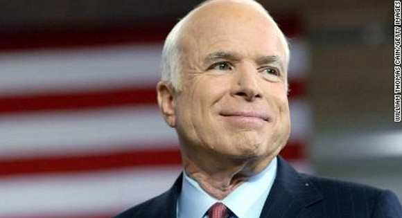 Republican Sen. John McCain had one more message for his fellow Americans. In a letter read by longtime aide Rick ...
