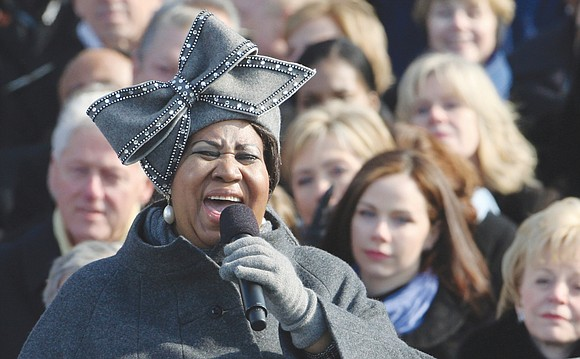 "Aretha Franklin, the glorious ""Queen of Soul"" whose music became the backdrop for a generation and a theme song for ..."