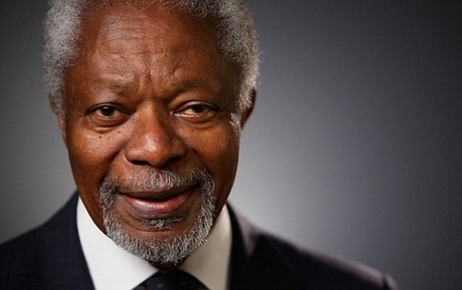 Former U.N. Secretary-General and Nobel Peace Prize laureate Kofi Annan died on Saturday, Aug. 18, 2018, his foundation said, after ...