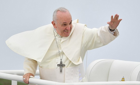"Pope Francis says he ""will not say a single word"" on a former archbishop's call for him to resign over ..."
