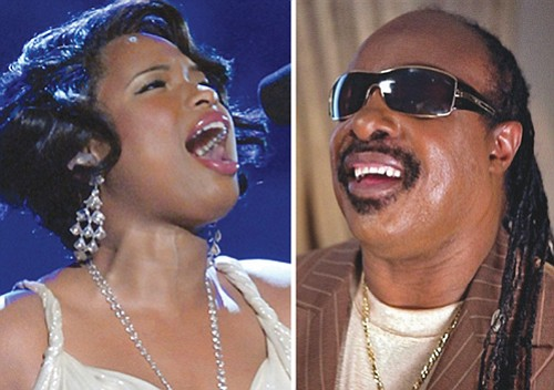 Jennifer Hudson (left) and Stevie Wonder will be among the all-star lineup to perform for Aretha Franklin's funeral Friday in Detroit.