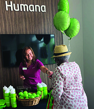 The Evergreen Park Humana community center hosts free fitness classes, cooking demonstrations, health and wellness seminars, and social activities. Photo Credit: Provided by Humana