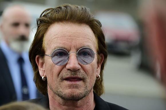 "The lead singer of legendary Irish rock band U2 said he saw a doctor and will ""be back to full ..."