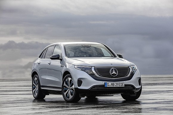 Mercedes-Benz revealed its first fully electric SUV in Stockholm Tuesday, another in a small rush of all-electric luxury vehicles expected ...