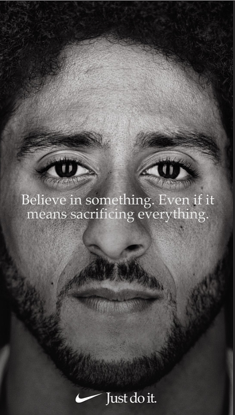 "Nike began the 30th anniversary celebration of its ""Just Do It"" ad campaign with a splash."
