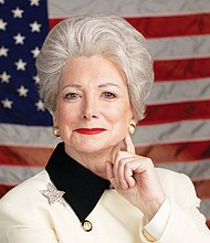 Portland actress Margie Boule stars as the late Ann Richards, the colorful and outspoken governor of Texas.