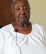 "Ruth Jefferson-Simon, 86, is the 200th patient to receive a Watchman device at Legacy Emanuel Medical Center for patients with non-valvular artial fibrillation (A-Fib). She wants everyone to know that she ""feels good."""