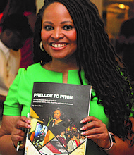 "Independent public relations (PR) consultant and Founder of Agency Abron, Vanessa Abron (pictured), recently released ""Prelude to Pitch; The Public Relations Guide and Toolkit for Small Business Owners, Artists, Music Pros and Creative Professionals."" Photo Credit: Dawn R. Stephens"