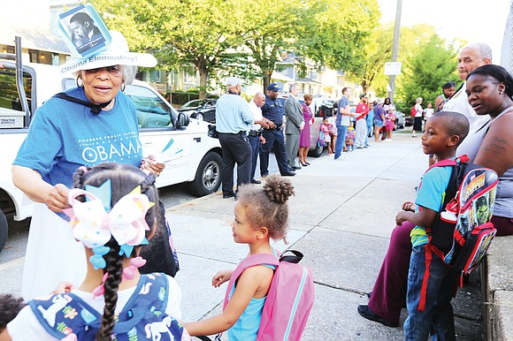 Enthusiasm ruled the day Tuesday as students across Metro Richmond headed to class for the start of a new school ...