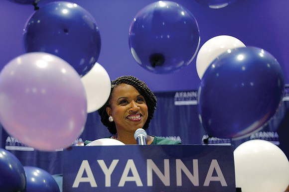 Add the name Ayanna Pressley to the list of African-American underdogs who are achieving unprecedented political success. Ms. Pressley scored ...