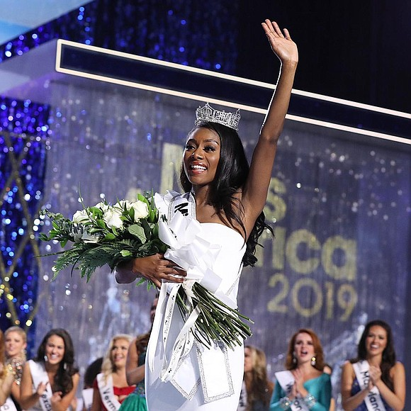 Miss New York has been named 2019 Miss America in Atlantic City, New Jersey.