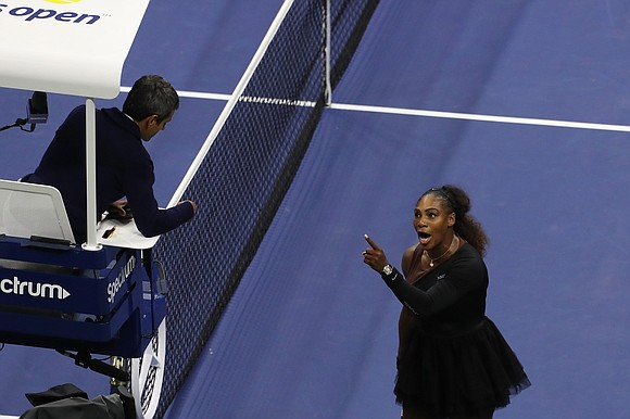 The US Open has fined Serena Williams $17,000 for three code violations during her loss in Saturday's women's singles final, ...