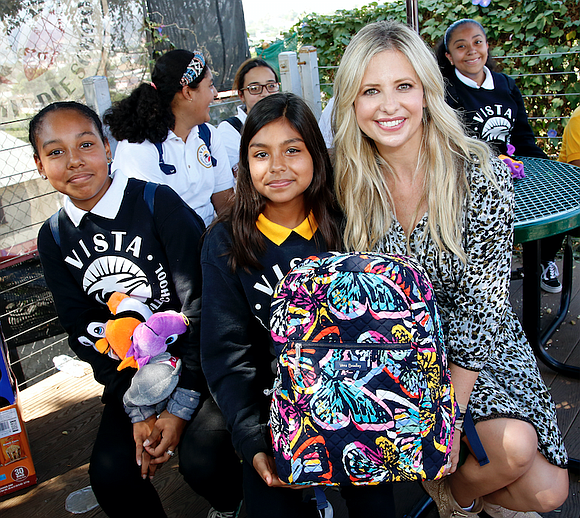 Together with a variety of celebrity co-hosts, Vera Bradley completes its back-to-school nationwide philanthropic tour with the non-profit organization Blessings ...