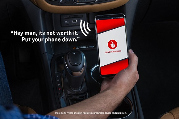 Chevrolet is launching a new smartphone app called Call Me Out* to help remind new and experienced drivers to keep ...