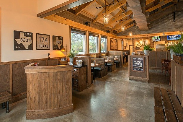 inside the Cotton Patch Cafe