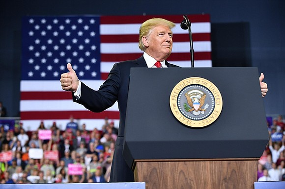 President Donald Trump likes to take credit for the success of the economy, with unemployment at 4%, the lowest it's ...