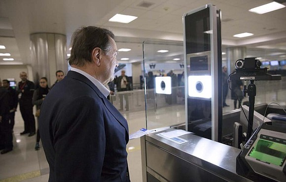 U.S. Customs and Border Protection (CBP) officers at George Bush Intercontinental Airport are using facial recognition technology to add efficiency ...