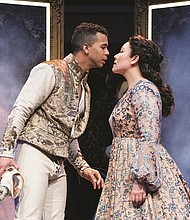 Romeo (William Thomas Hodgson) and Juliet (Emily Ota) fall in love at first sight in Shakespeare's most popular play. The Oregon Shakespeare Festival in Ashland is giving new life to the classic story, now showing through Oct. 12.