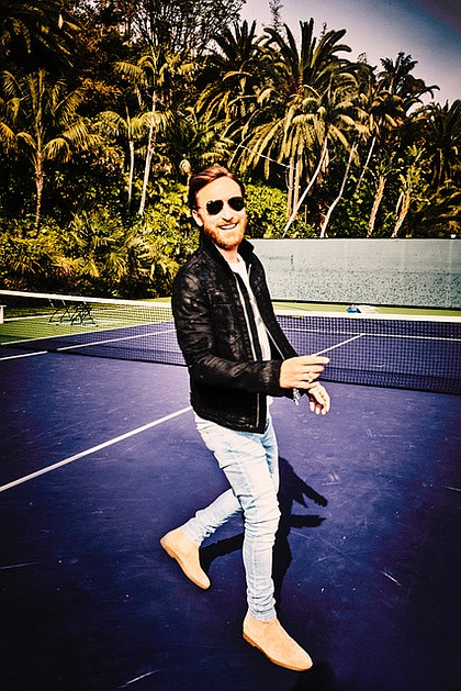 David Guetta/photo credit:Ellen Von Unwerth