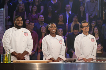 Gerron (Nashville/Louisville), Ashley (Miami) and Cesar (Houston), the three remaining home cooks will face their final challenge when they are ...