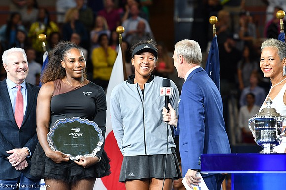 The U.S. Open women's finals Saturday at Arthur Ashe Stadium, the USTA Billie Jean King National Tennis Center in Flushing ...