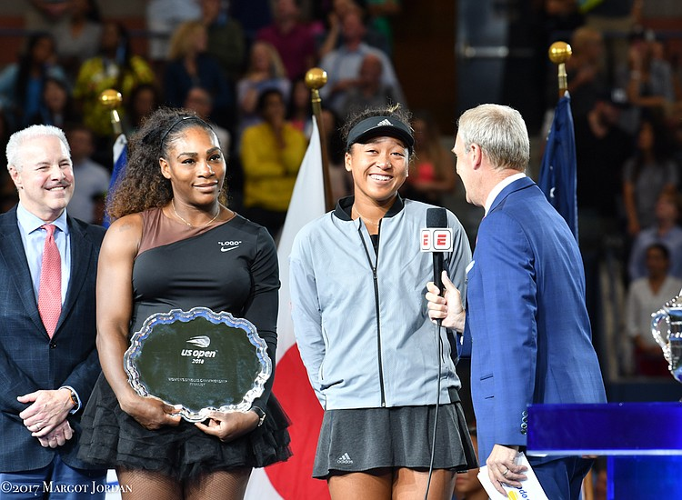 The U.S. Open women's finals Saturday at Arthur Ashe Stadium the USTA Billie Jean King National Tennis Center in Flushing