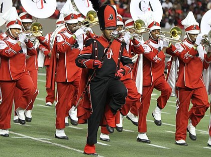 Clark Atlanta University's Might Marching Panthers