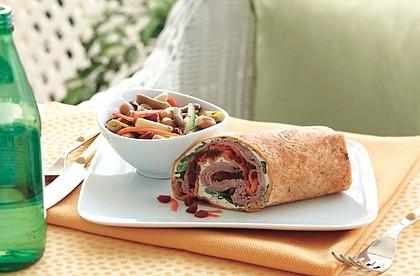 Beef, Beet and Horseradish Wraps