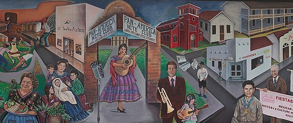 The Heritage Society commissioned a mural to celebrate the many contributions Mexican-Americans in Houston. In the spirit of the great ...