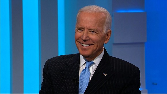 Former Vice President Joe Biden sidestepped a question Wednesday about his 2020 intentions, saying he is not running for president ...