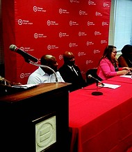 The Chicago Urban League recently hosted the Jobs and Justice Town Hall to discuss H. R. 5785, a house bill better known as the Jobs and Justice Act of 2018, which was introduced by the Congressional Black Caucus in May. Photo Credit: Provided by the Chicago Urban League