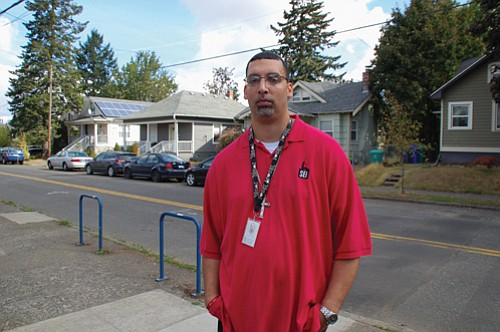 Sahaan McKelvey of Self Enhancement, Inc. helped develop the framework for a $652 million Metro housing bond that voters in three counties will decide this November. He said the measure is designed to help communities of color, homeless families and those most in need in the greater Portland region.