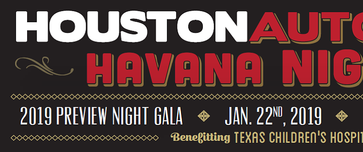 Auto Show Preview Night to Benefit Texas Children's Hospital