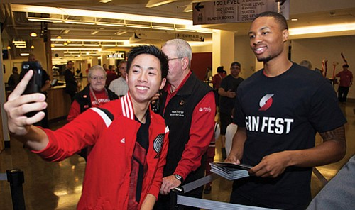 new product e04e9 1ee35 Blazers to Host Fans | The Portland Observer