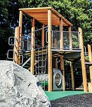 You're invited to celebrate the installation of a new playground at Kenton Park in north Portland during a grand re-opening celebration on Saturday, Sept. 29 from 1 p.m. to 3 p.m.
