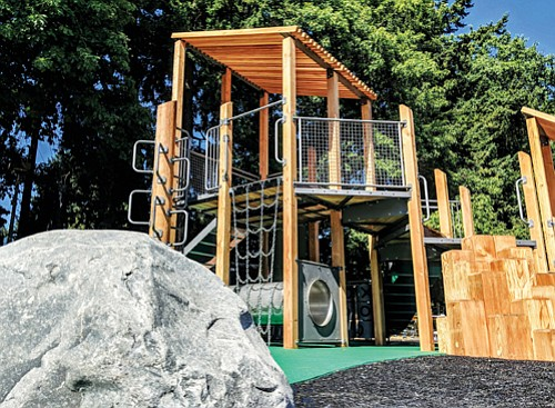 A new playground at Kenton Park is the latest Parks Replacement Bond project to come to completion. To mark the ...