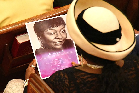 She was an anchor in the community and an icon. Tuesday, the community said goodbye and sent her home.