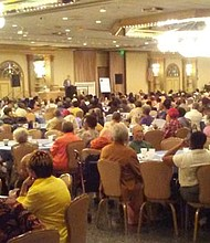 Over 800 seniors from the Baltimore area attended the 12th Council President's Senior Symposium designed to provide seniors with important information regarding health, wellness, finance, housing and other services that aid aging adults in Baltimore and the surrounding communities.