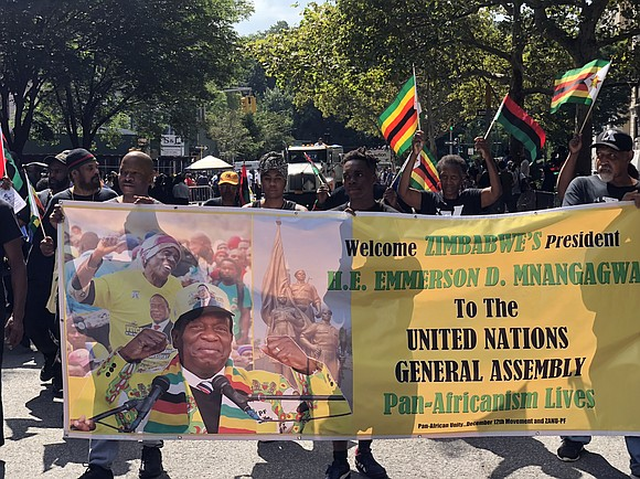 The Zimbabwe African National Union-Patriotic Front and the people of Zimbabwe set the example of self-determination and leadership for African ...