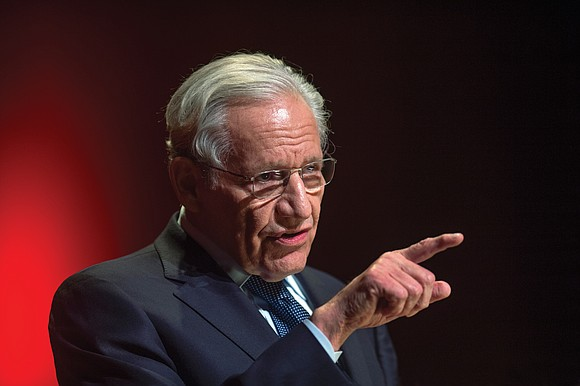 """There is a war on truth,"" veteran investigative journalist Bob Woodward said about the current climate in the White House ..."