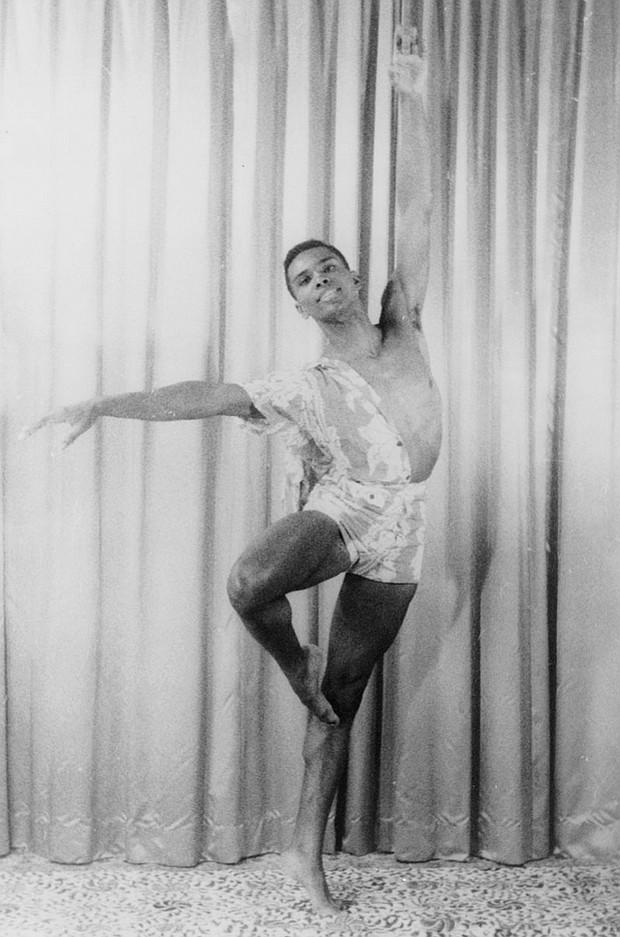 Arthur Mitchell in 1955