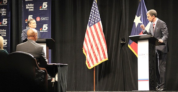 In their first Texas Senate debate at Southern Methodist University held Friday evening, Republican incumbent Ted Cruz and Democratic challenger ...