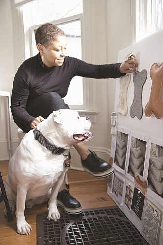 Portland-based designer Angela Medlin creates big-brand apparel for companies like Nike and Adidas. The long time entrepreneur has launched two companies over her long career, one is specializing on getting more diversity in the design field and the other an upscale retail company selling dog accessories.