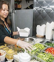 Cheryl Nhun is the owner of the new Bangkok Xpress restaurant located in Portland International Airport.