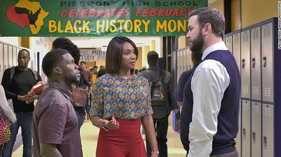 """Here's the good news: the success of """"Night School"""" by director Malcolm D. Lee does not live or die by ..."""