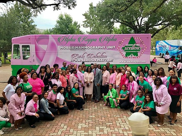 Alpha Kappa Alpha Sorority, Incorporated International President Glenda Glover says the service organization will be a formidable opponent in the ...