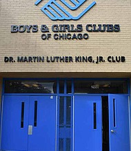 A grand reopening ceremony was recently held for the renovated Martin Luther King Jr. Club in East Garfield